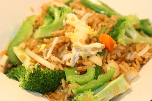 Free--Vegetable Fried Rice - Click Image to Close